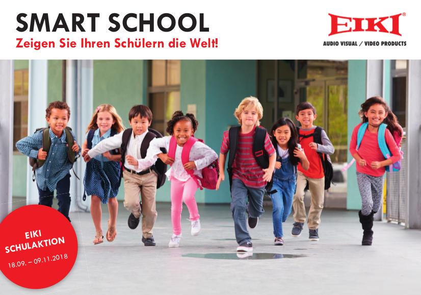 EIKI präsentiert starkes Duo für Schule 4.0